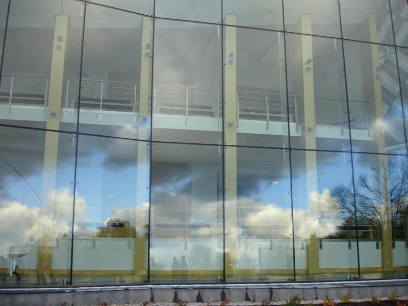 Струкутурные фасадные стеклопакеты