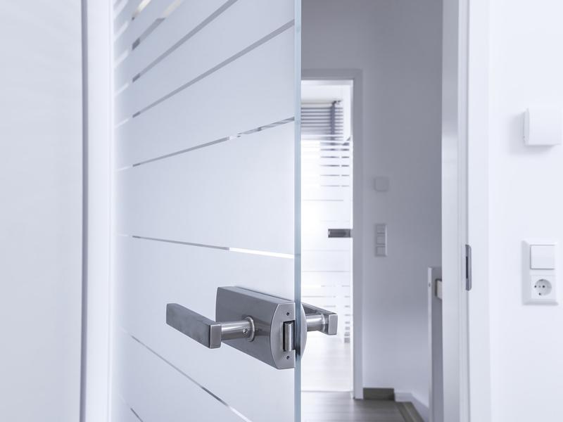 Ручка для стеклянных дверей