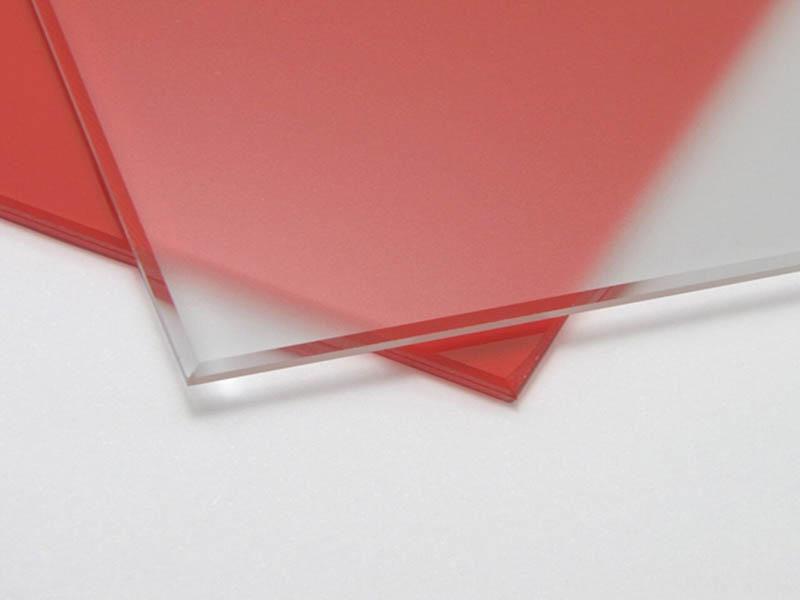 Осветленное матовое стекло