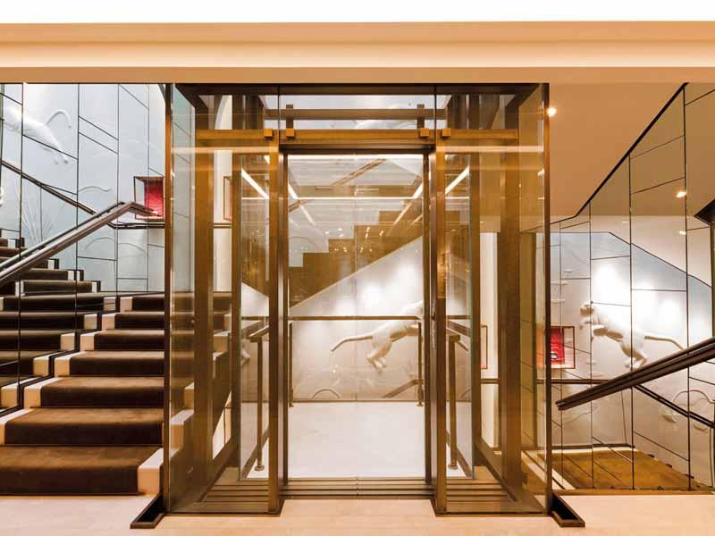 Остекление лифтов